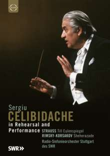 Sergiu Celibidache in Rehearsal & Performance, DVD