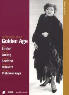 Great Voices of the Golden Age, DVD