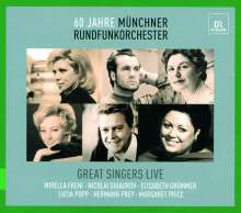 Great Singers Live, 6 CDs