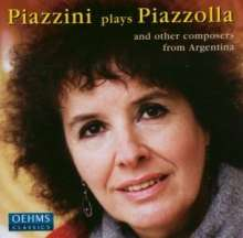 Piazzini plays Piazzolla, CD