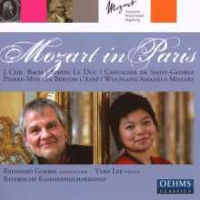 Mozart in Paris, CD
