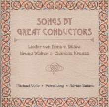 Songs By Great Conductors, CD