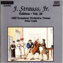 Johann Strauss II (1825-1899): Johann Strauss Edition Vol.26, CD