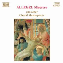 Gregorio Allegri (1582-1652): Miserere, CD