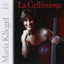 Maria Kliegel - Le Cellissima, CD