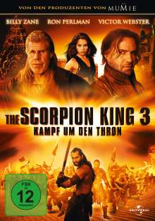 Scorpion King 3: Battle for Redemption, DVD