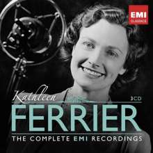 Kathleen Ferrier - The Complete EMI Recordings, 3 CDs