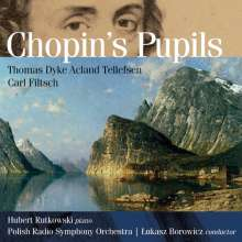 Hubert Rutkowski - Chopin's Pupils, CD