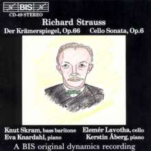 Richard Strauss (1864-1949): Krämerspiegel op.66 (12 Lieder nach Kerr), CD