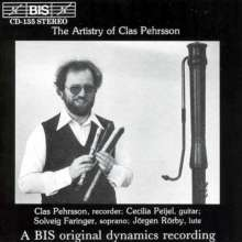 The Artistry of Clas Pehrsson, CD