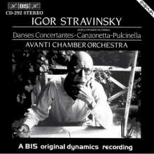 Igor Strawinsky (1882-1971): Danses concertantes, CD