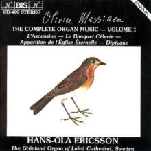 Olivier Messiaen (1908-1992): Orgelwerke Vol.1, CD