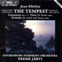 Jean Sibelius (1865-1957): The Tempest op.109, CD