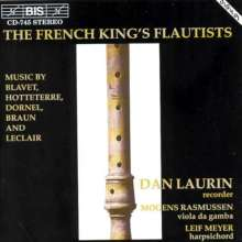 Dan Laurin - The French King's Flautists, CD
