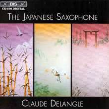 Claude Delangle - The Japanese Saxophone, CD