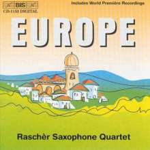 Rascher Saxophone Quartet - Europe, CD
