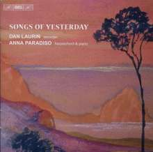 Dan Laurin - Songs of Yesterday, CD