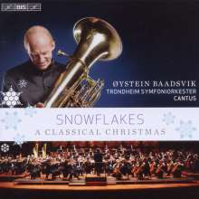 Oystein Baadsvik - Snowflakes (A Classical Christmas), CD