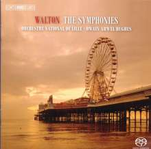 William Walton (1902-1983): Symphonien Nr.1 & 2, SACD