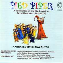 Pied Piper - A Celebration of Life & Work of David Munrow, CD