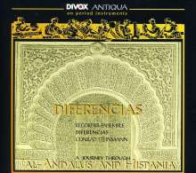 Ensemble Diferencias - Al-Andalus & Hispania, CD