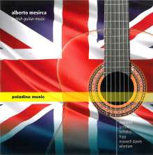 Alberto Mesirca - British Guitar Music, CD