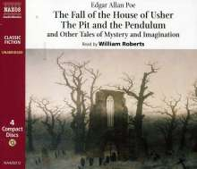 Fall Of The House Of Usher/+, 4 CDs