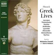 Plutarch:Greek Lives (in engl.Spr.), CD