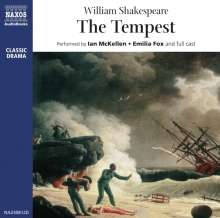 Shakespeare,William:The Tempest, 2 CDs