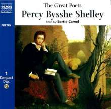 Percy Bysshe Shelley: The Great Poets Percy Bysshe Shelley, CD