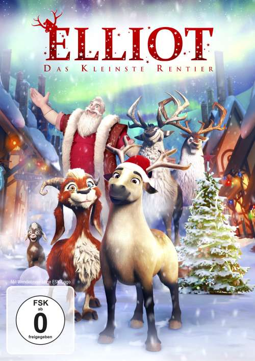 Cover von ELLIOT - das kleinste Rentier