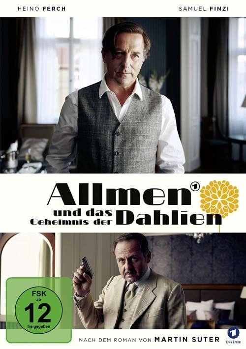 Cover von Allmen und das Geheimnis der Dahlien