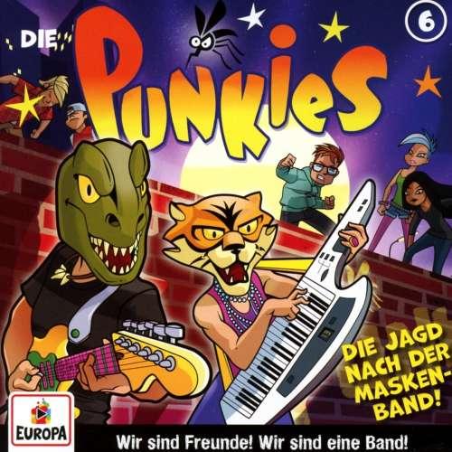 Cover von die Punkies die Jagd nach der Maskenband Nr.6