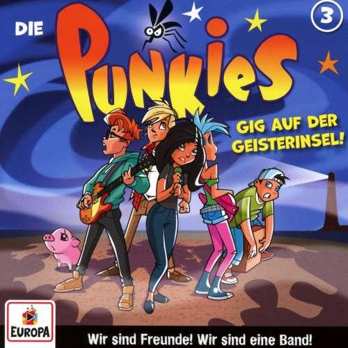 Cover von die Punkies Gig auf der Geisterinsel Nr.3