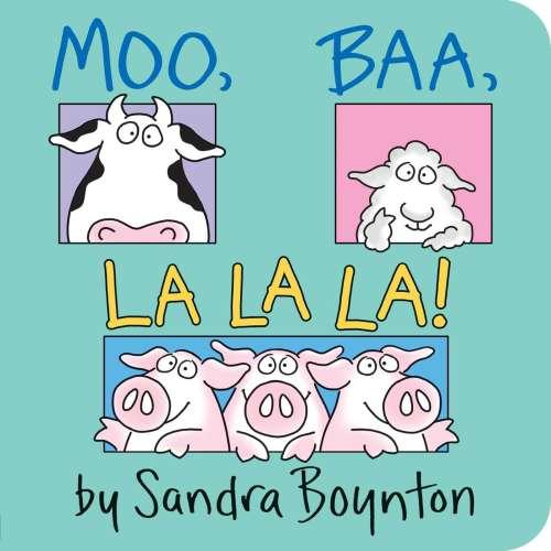 Cover von Moo, baa, la la la