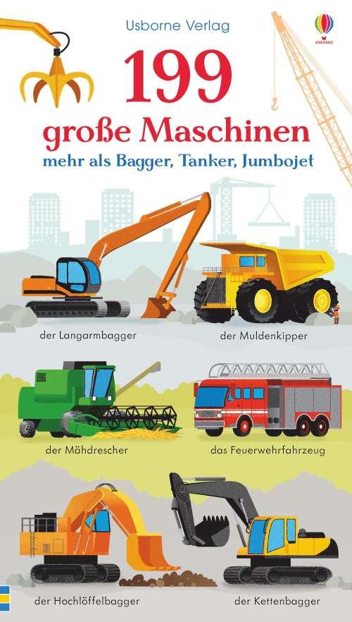 Cover von 199 grosse Maschinen