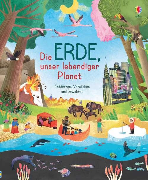 Cover von Die Erde, unser lebendiger Planet