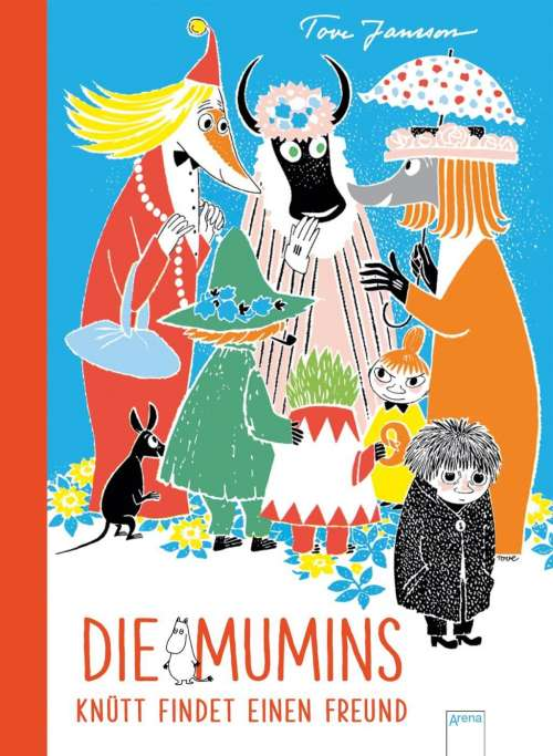 Cover von Die Mumins - Knütt findet einen Freund