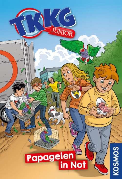 Cover von TKKG junior - Papageien in Not