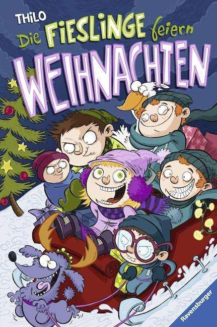Cover von Die Fieslinge feiern Weihnachten