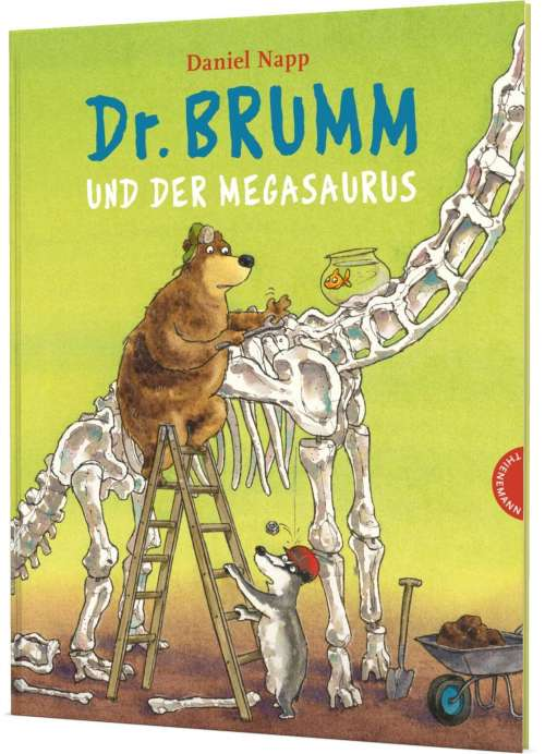Cover von Dr. Brumm und der Megasaurus