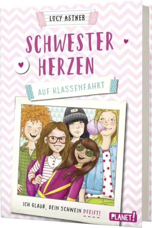 Cover von Schwesterherzen auf Klassenfahrt