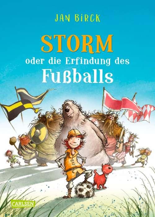 Cover von Storm oder die Erfindung des Fussballs