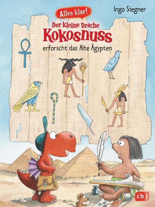 Cover von Der kleine Drache Kokosnuss erforscht das Alte Ägypten