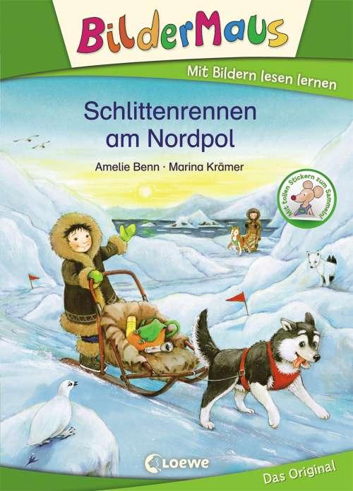 Cover von Schlittenrennen am Nordpol