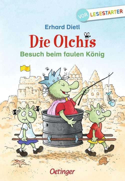 Cover von Die Olchis - Besuch beim faulen König