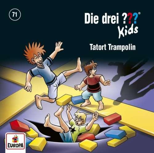 Cover von Die drei ??? 71: Tatort Trampolin