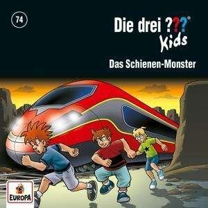Cover von Die drei ??? 74: Das Schienen-Monster