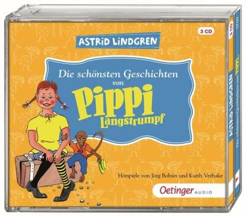 Cover von Die schönsten Geschichten von Pippi Langstrumpf - CD 3 Dauer: 51 Minuten