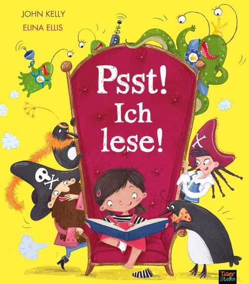 Cover von Psst! Ich lese!
